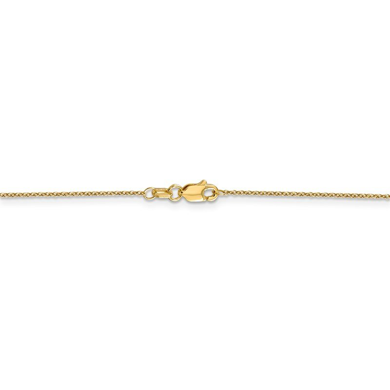 Leslie's Leslie's 14K .9mm Round Cable Chain