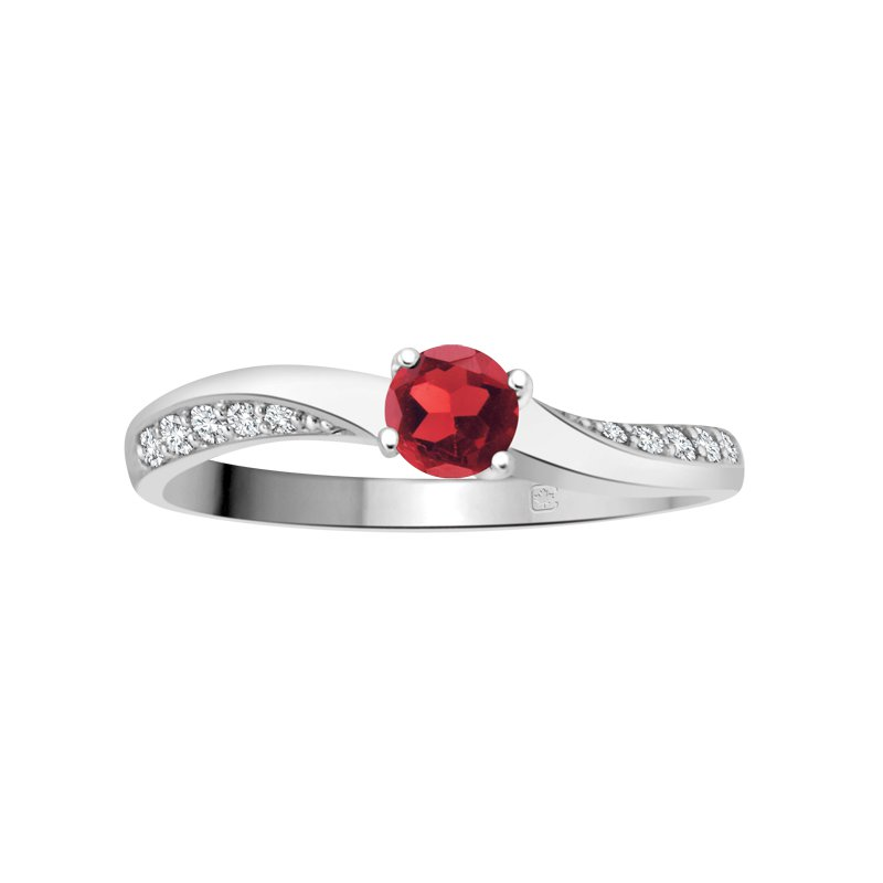 Diamond Wishes Birthstone & Diamond Ladies Ring