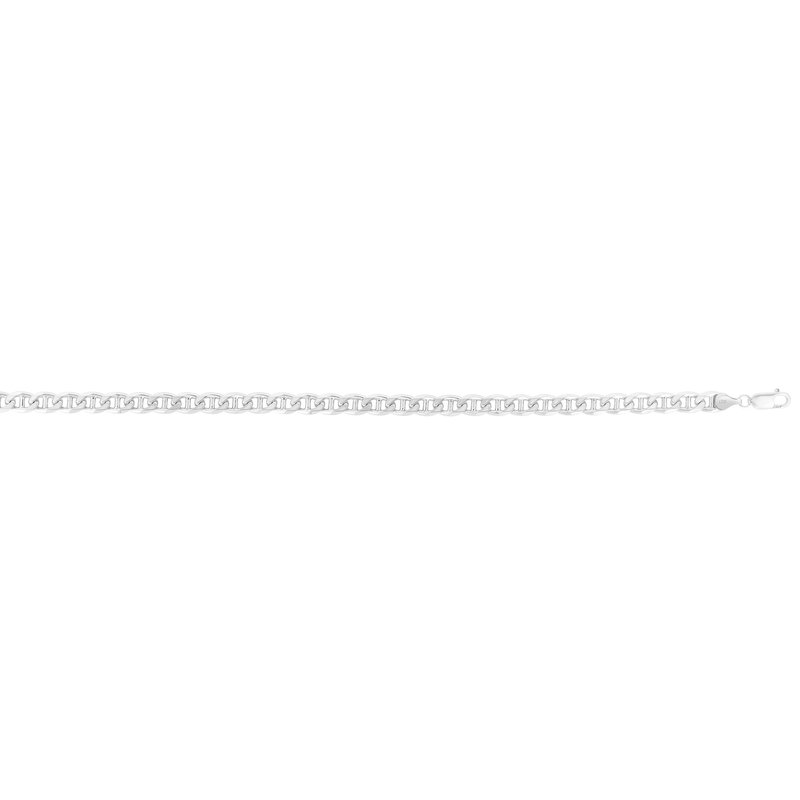 Royal Chain Silver 6mm Concave Mariner Chain