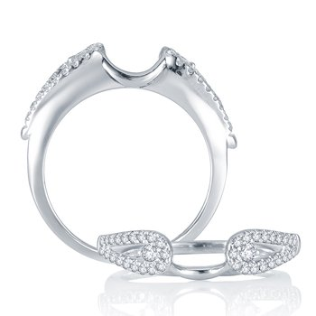 14K  0.33 Ct  Diamond Ring Guard