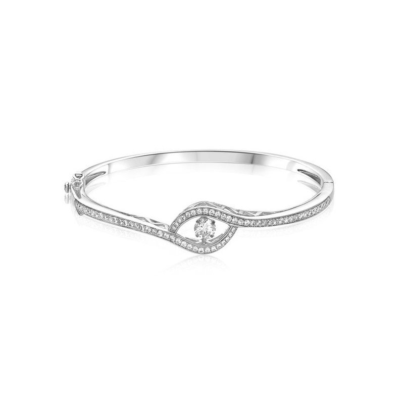 LARUS Jewelry Eye-shaped Bangle