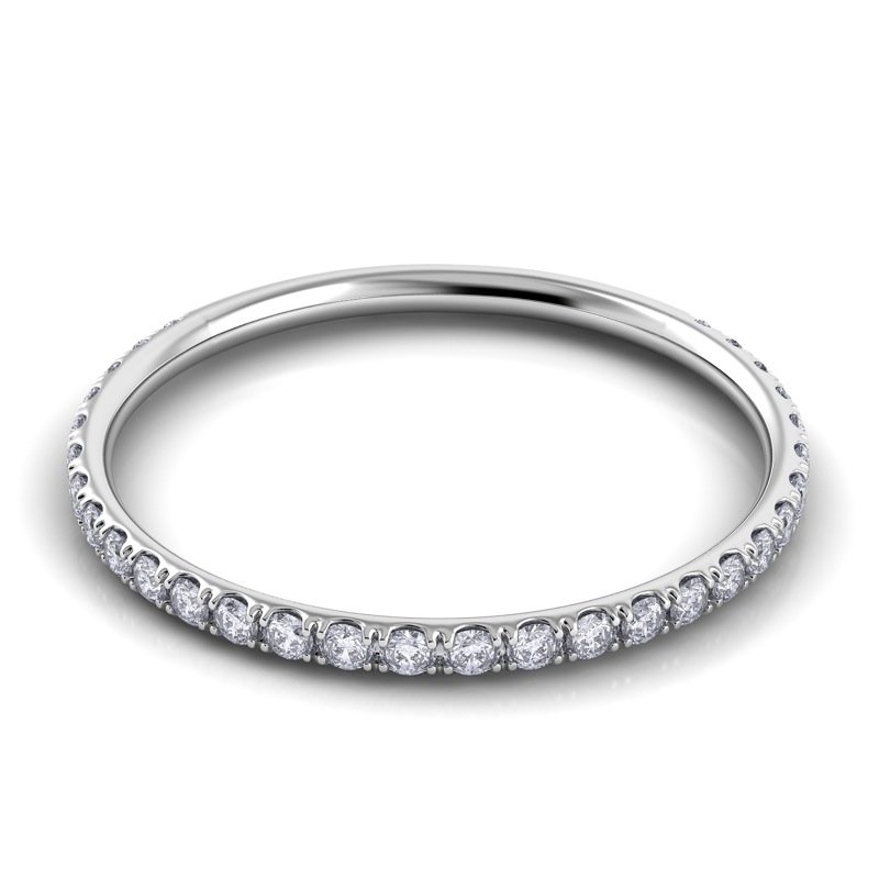 Danhov Classico Round Diamond Band