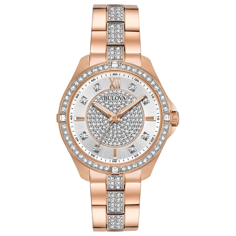Bulova Bulova Crystals Collection Ladies Watch
