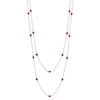 "Ruby ""By The Yard"" Chain"