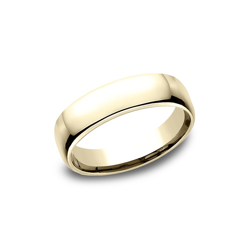 Benchmark Wedding Bands European Comfort-Fit Wedding Ring