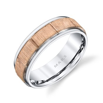 MARS G101 Men's Wedding Band