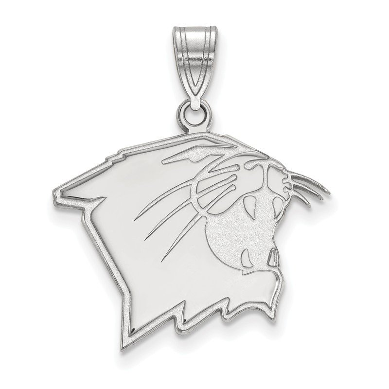 NCAA Sterling Silver Northwestern University NCAA Pendant