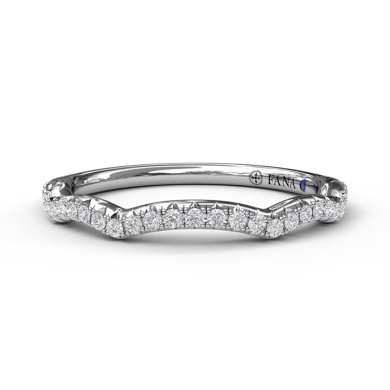 Fana Diamond Wedding Band