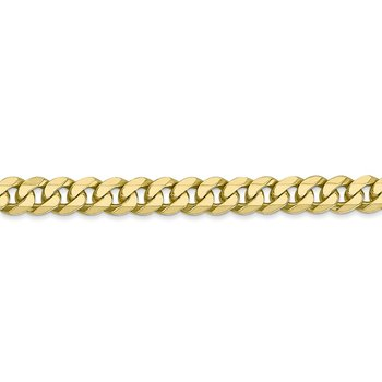 Leslie's 10K 5.75mm Flat Beveled Curb Chain