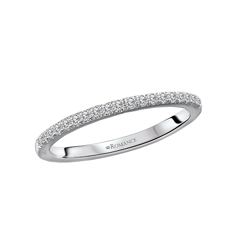Romance Matching Diamond Wedding Band