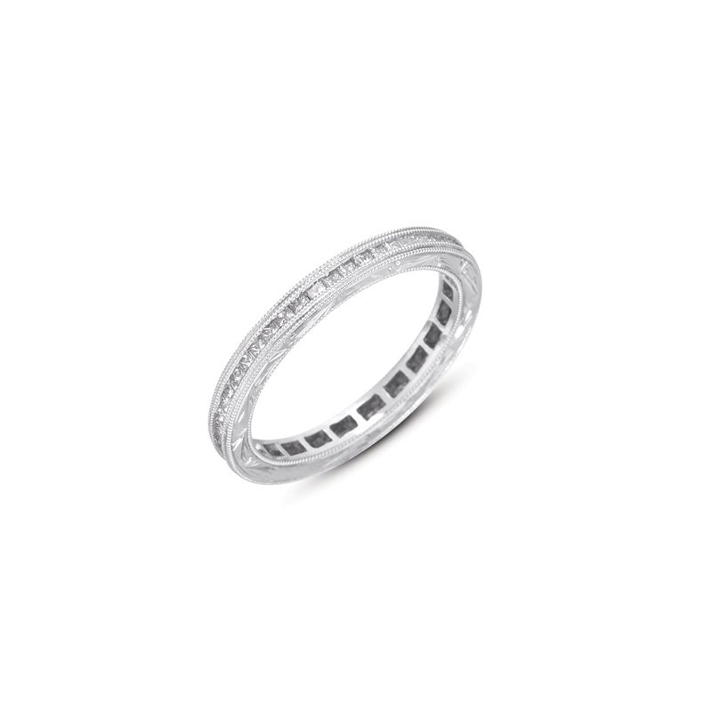 S. Kashi & Sons Bridal White Gold Princess Eternity