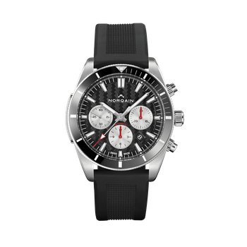 Adventure Sport Chrono - Black On Rubber Strap