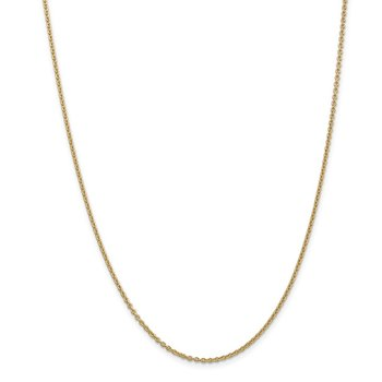 Leslie's 14K 1.95 mm Round Cable Chain