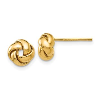 14k Knot Post Earrings