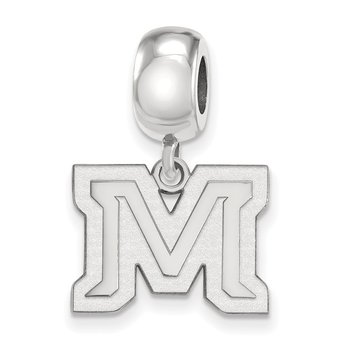 Sterling Silver Montana State University NCAA Bead