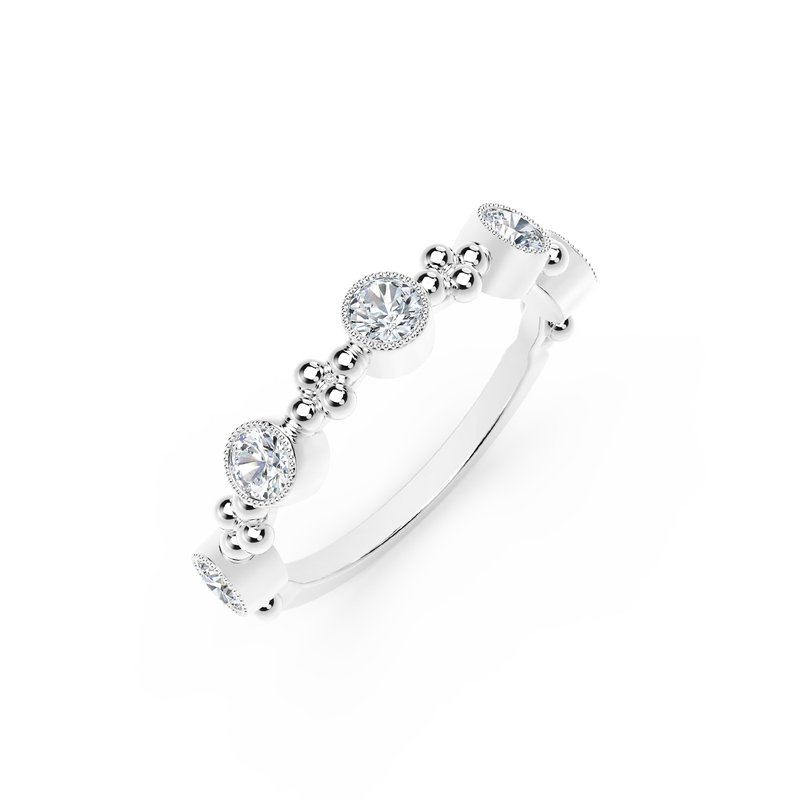 Forevermark Black Label The Forevermark Tribute™Collection Delicate Diamond Ring