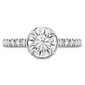 0.21 ctw. Juliette Diamond Band Semi-Mount