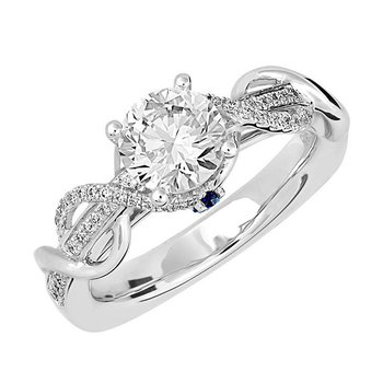 Bridal Ring-RE12684W10R