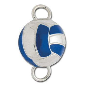 SB5726-B_BLUE VOLLEY BALL CLASP
