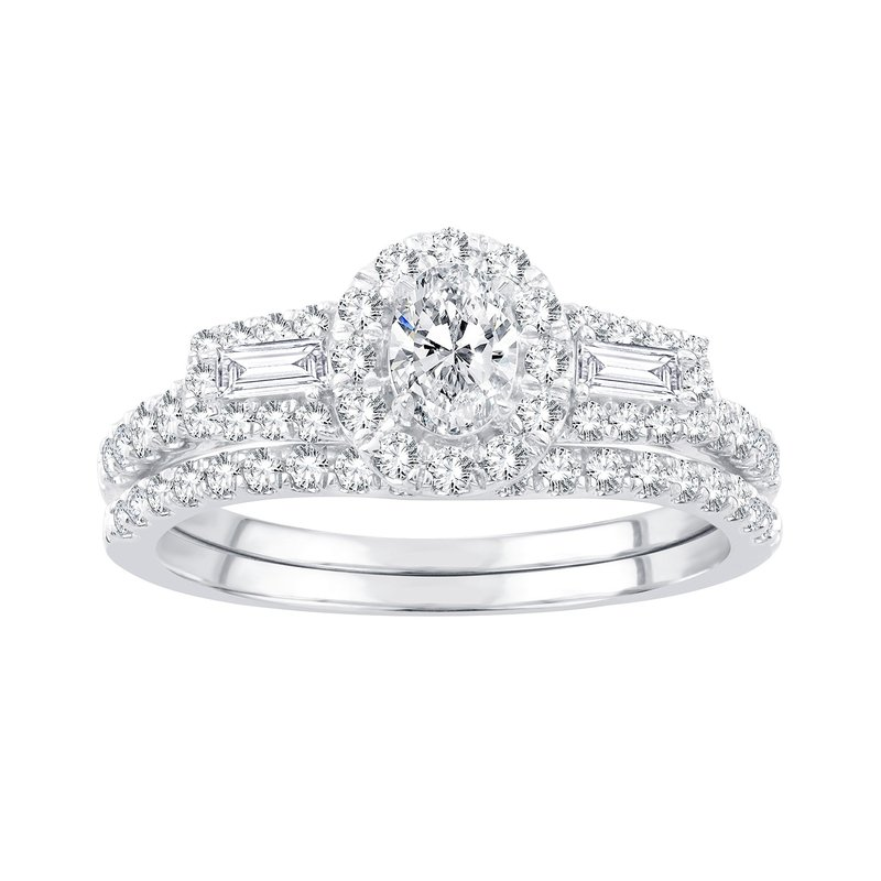 Low Cost Luxury 14K 1.00Ct Diamond Bridal Ring