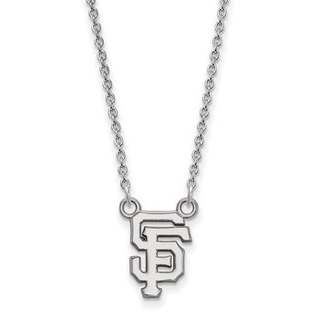 Gold San Francisco Giants MLB Necklace