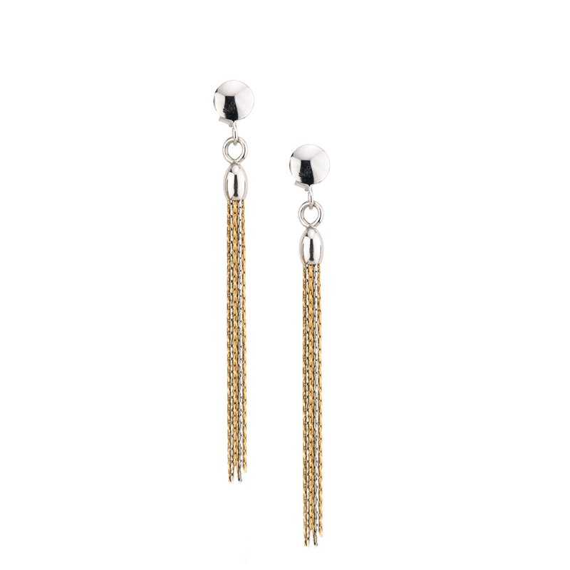 Frederic Duclos Tassel Earrings
