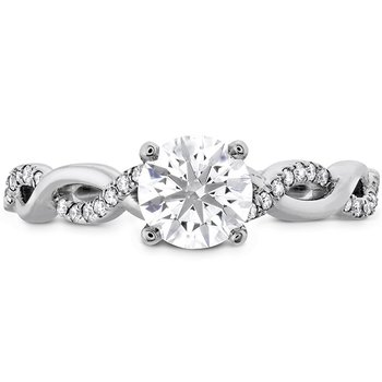 0.16 ctw. Destiny Lace HOF Engagement Ring