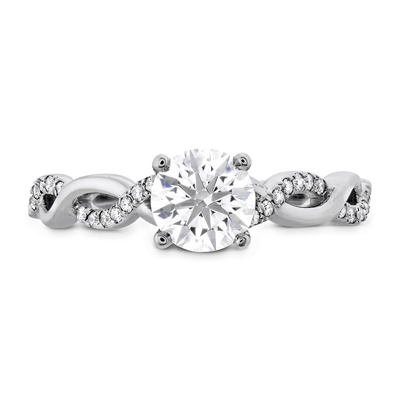 Hearts on Fire Destiny Lace HOF Engagement Ring