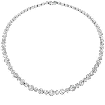 16.2 ctw. Fulfillment Diamond Line Necklace