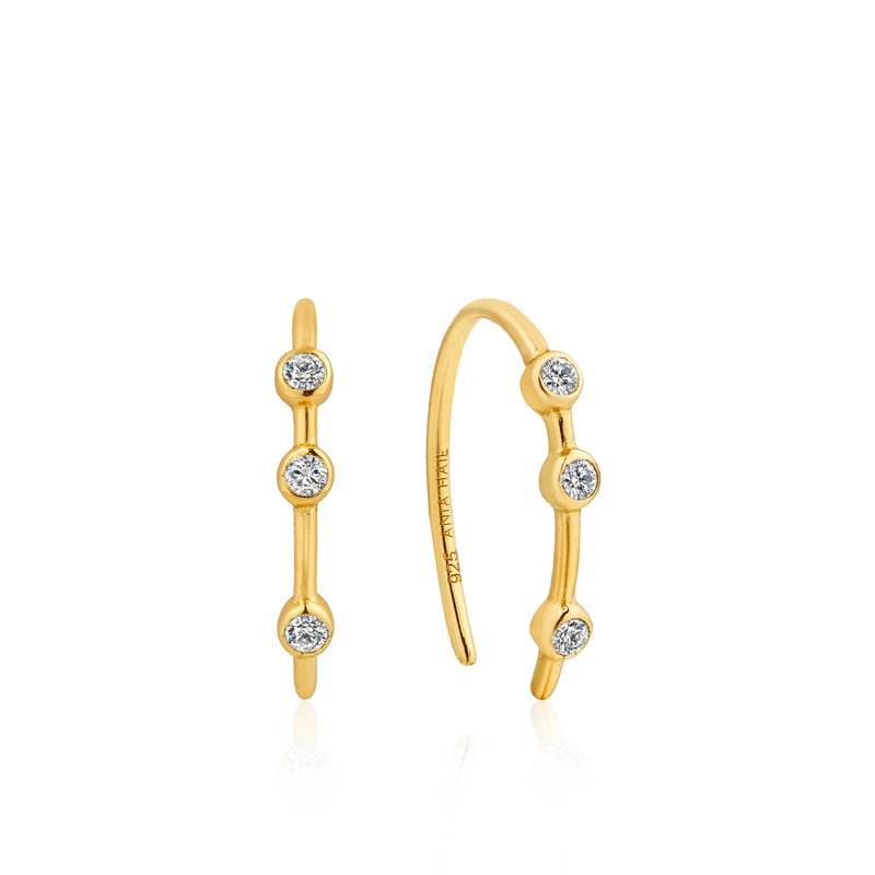 Ania Haie Shimer Stud Hook Earrings