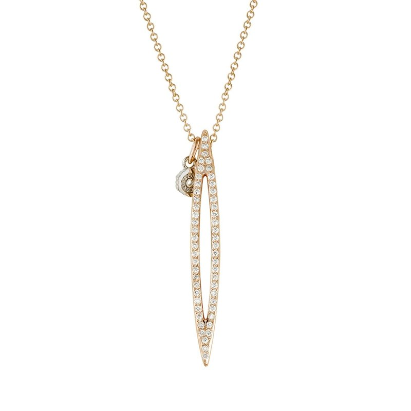 Tacori Fashion Open Pavé Surfboard Pendant