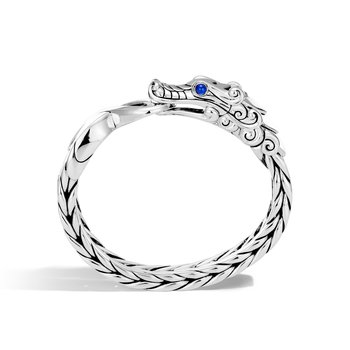 Legends Naga 16MM Station Bracelet in Silver