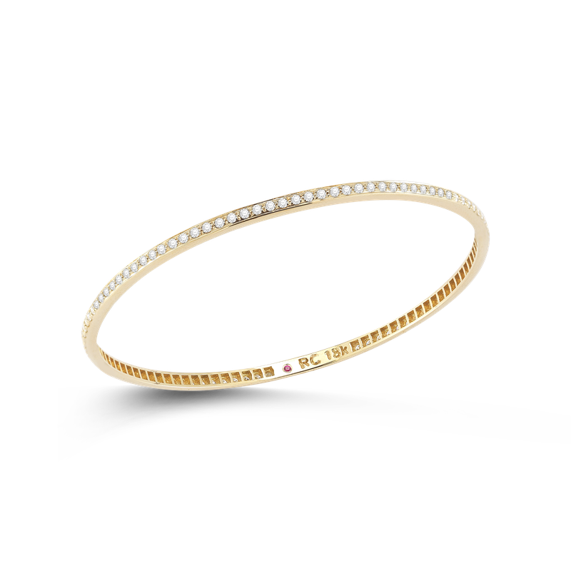 Roberto Coin Bangle With Diamonds