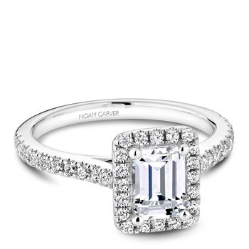 Noam Carver Fancy Engagement Ring R050-04A