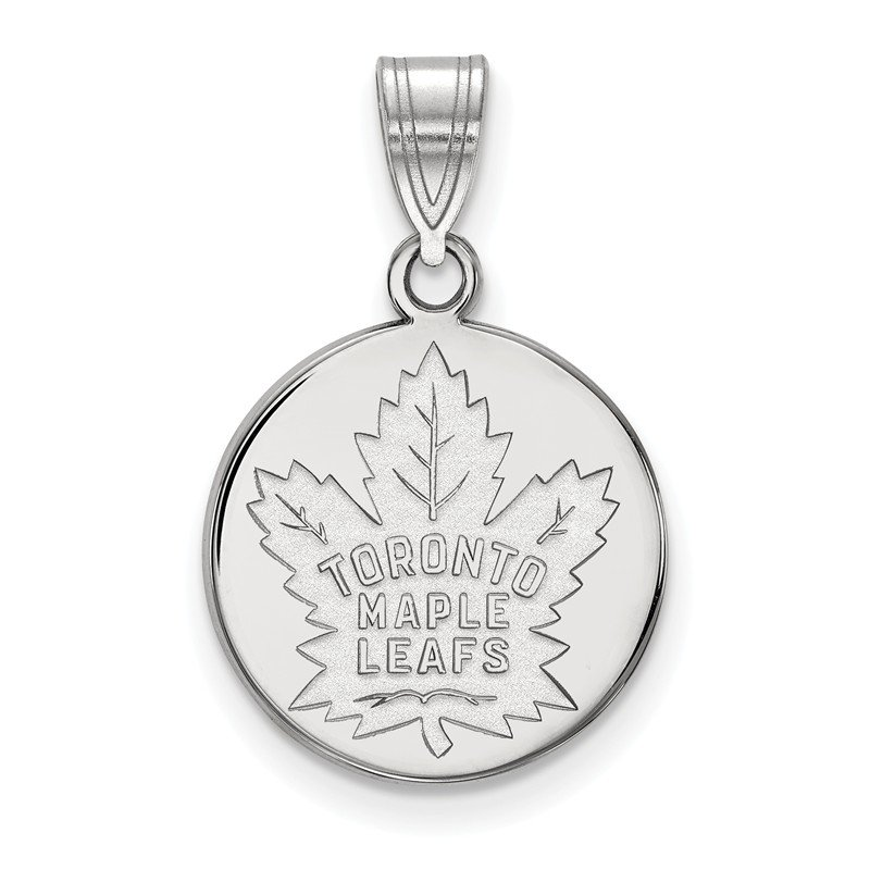 NHL Sterling Silver Toronto Maple Leafs NHL Pendant