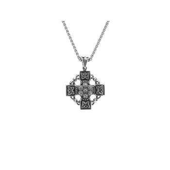 Celtic Wheel Cross Pendant