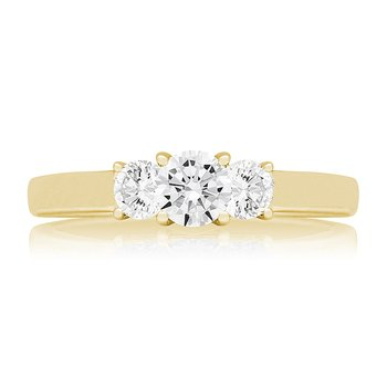 FARRAH THREE STONE RING
