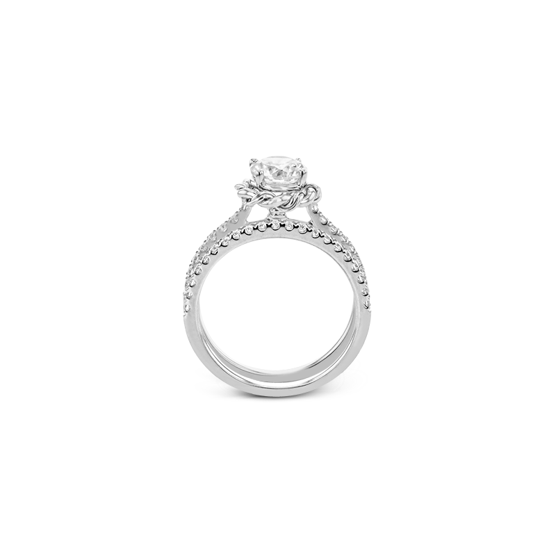 Simon G LR2859 WEDDING SET