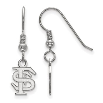 Sterling Silver Florida State University NCAA Earrings