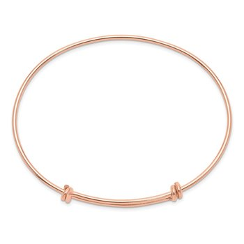 Rose Gold Filled 1.65mm Expandable Bangle