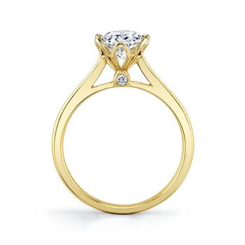 MARS 27233 Diamond Engagement Ring, 0.03 Ctw