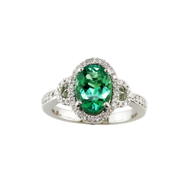 Eichhorn Emerald and Diamond Ring