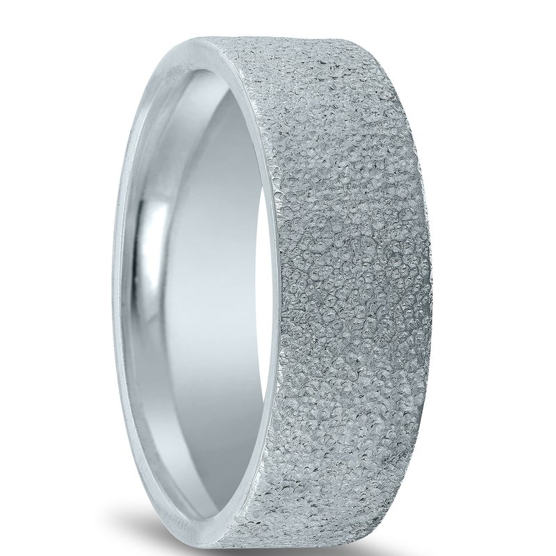 Novell N17227 - Men's Wedding Band with Organic Finish