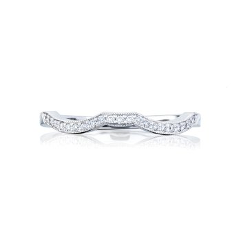 Simply Tacori White Gold Wedding Band