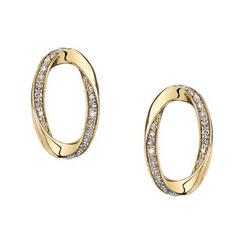 MARS 26577 Fashion Earrings, 0.20 Ctw.