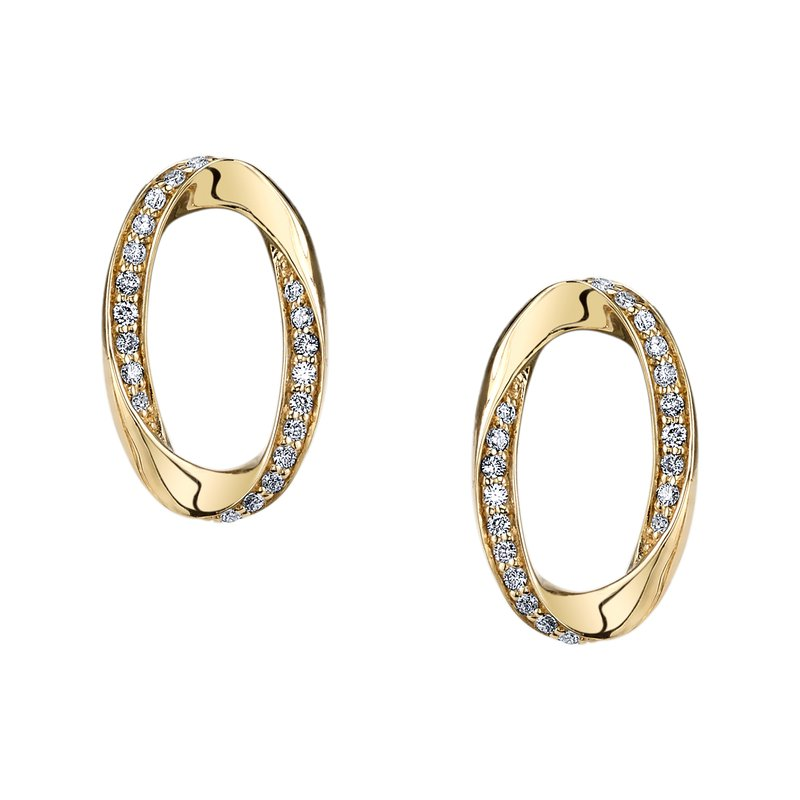 MARS Jewelry MARS 26577 Fashion Earrings, 0.20 Ctw.