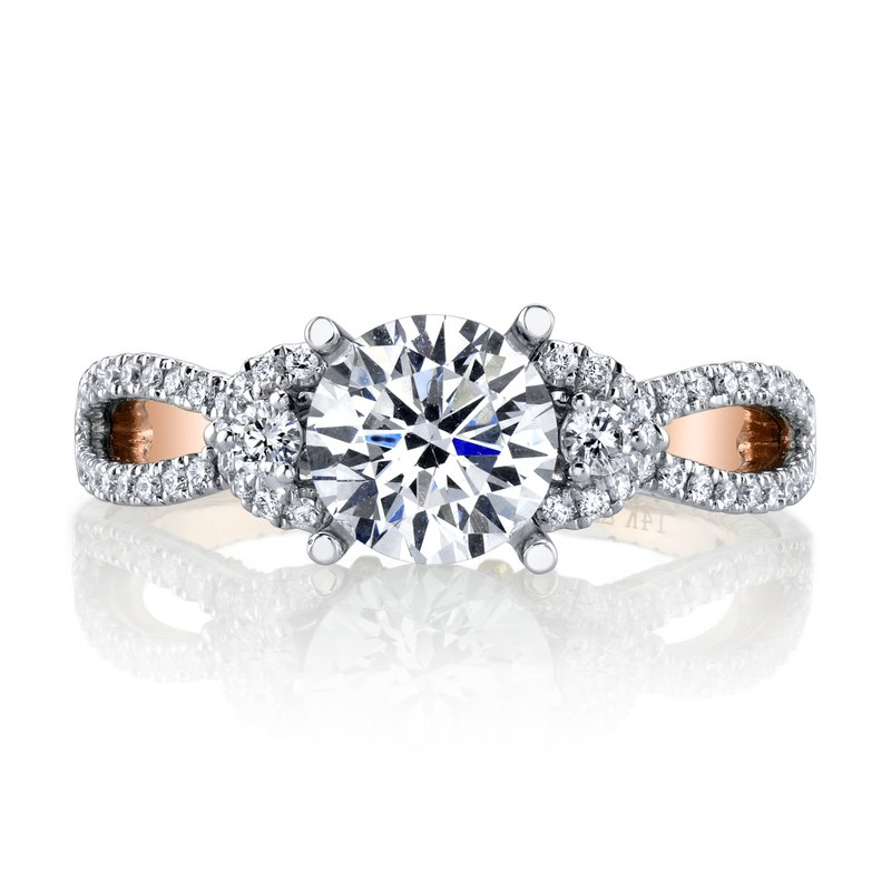 MARS Jewelry MARS 26088 Diamond Engagement Ring, 0.55 Ctw.