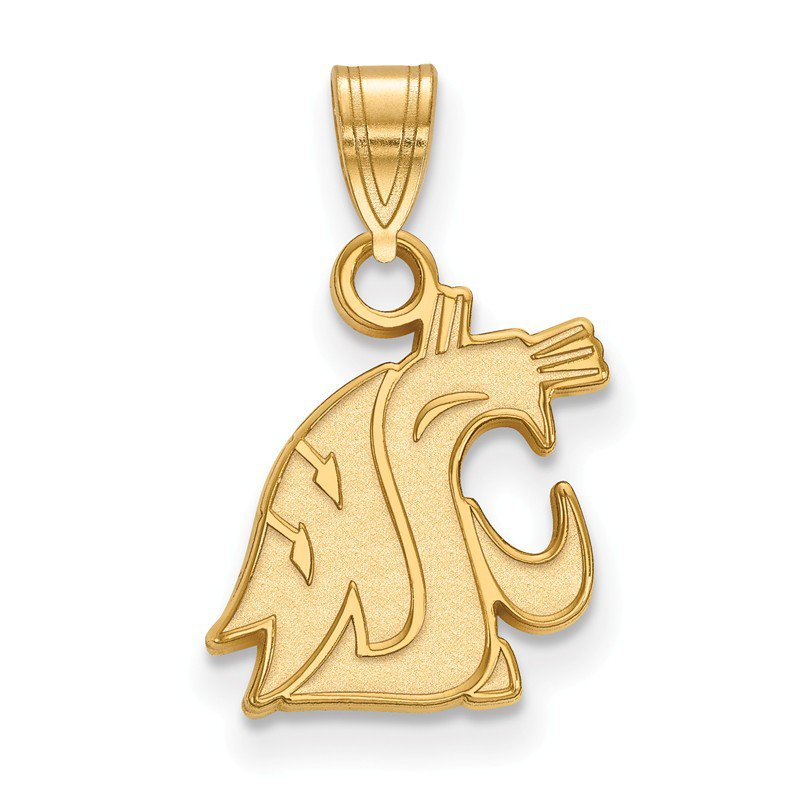 NCAA Gold-Plated Sterling Silver Washington State University NCAA Pendant
