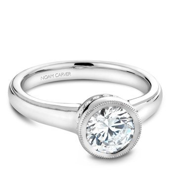 Noam Carver Vintage Engagement Ring B025-01A