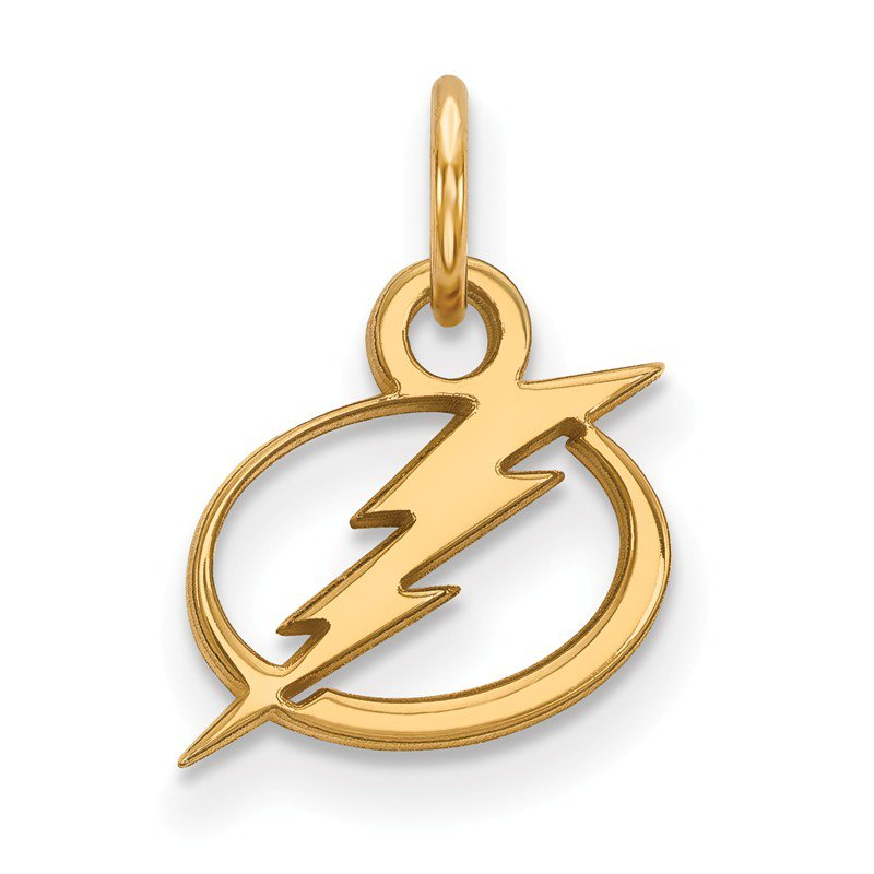 NHL Gold Tampa Bay Lightning NHL Pendant